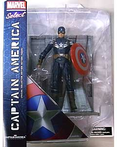 DIAMOND SELECT MARVEL SELECT 映画版 CAPTAIN AMERICA: THE WINTER SOLDIER CAPTAIN AMERICA パッケージ傷み特価