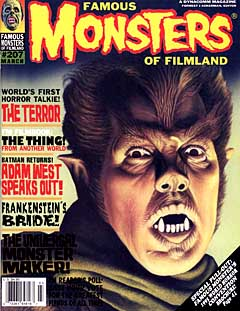 FAMOUS MONSTERS OF FILMLAND #207