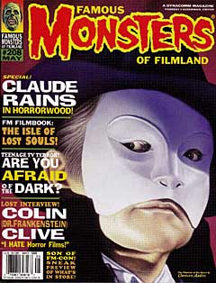 FAMOUS MONSTERS OF FILMLAND #208 特価