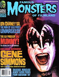 FAMOUS MONSTERS OF FILMLAND #226