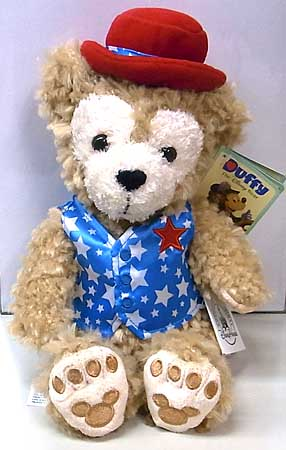 DISNEY USAディズニーテーマパーク限定 DUFFY THE DISNEY BEAR 9INCH AMERICANA DUFFY