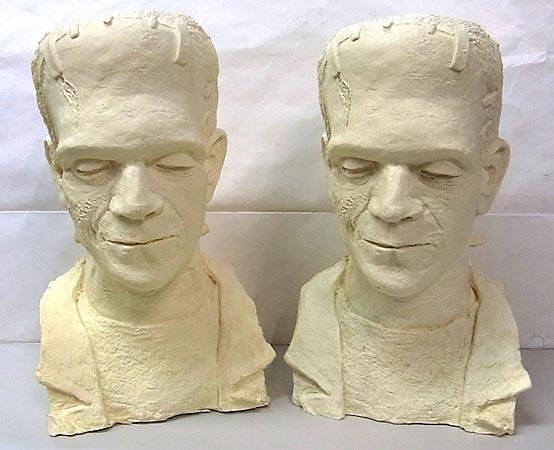 ディメンショナルデザイン フランケンシュタインの花嫁版 フランケンシュタイン・モンスター 胸像