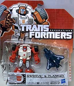 HASBRO TRANSFORMERS GENERATIONS LEGENDS CLASS SWERVE & FLANKER