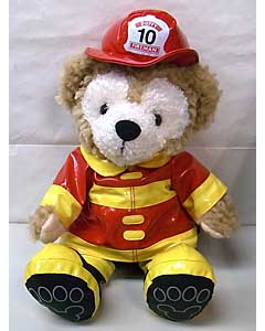 DISNEY USAディズニーテーマパーク限定 DUFFY THE DISNEY BEAR 12INCH FIREMAN DUFFY