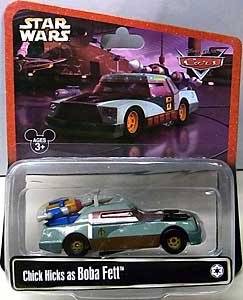 CARS 2014 USAディズニーテーマパーク限定 CHICK HICKS AS BOBA FETT