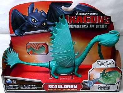 SPIN MASTER DRAGONS DEFENDERS OF BERK ACTION DRAGONS SCAULDRON [GREEN]