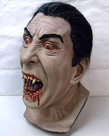 Henry ALVAREZ スタジオ ディスプレイ仕様ラバーマスク 吸血鬼ドラキュラ