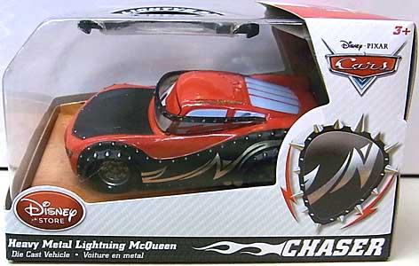 CARS 2014 USAディズニーストア限定 ダイキャストミニカー CHASER HEAVY METAL LIGHTNING McQUEEN
