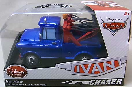 CARS 2014 USAディズニーストア限定 ダイキャストミニカー CHASER IVAN MATER