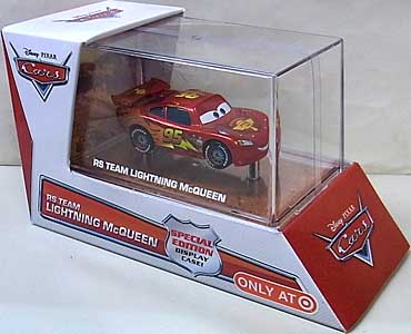 MATTEL CARS 2014 USA TARGET限定 SPECIAL EDITION RS TEAM LIGHTNING McQUEEN