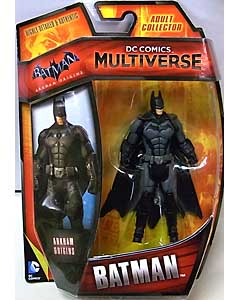 MATTEL DC COMICS MULTIVERSE 4インチアクションフィギュア BATMAN: ARKHAM ORIGINS BATMAN