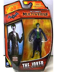 MATTEL DC COMICS MULTIVERSE 4インチアクションフィギュア BATMAN: ARKHAM ORIGINS THE JOKER