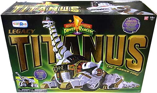 USA BANDAI POWER RANGERS MIGHTY MORPHIN USA TOYSRUS限定 LEGACY TITANUS