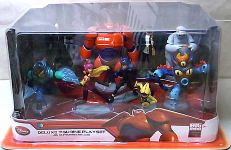 USA DISNEY STORE 限定 DELUXE FIGURINE PLAYSET BIG HERO 6