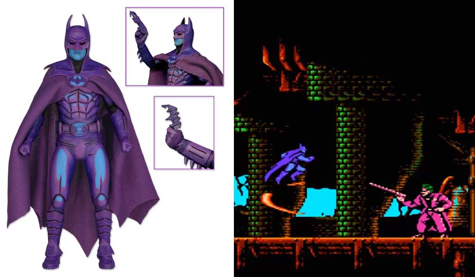 NECA BATMAN 1989 7インチアクションフィギュア CLASSIC VIDEO GAME APPEARANCE