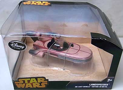 STAR WARS USAディズニーストア限定 DIE CAST VEHICLE LANDSPEEDER
