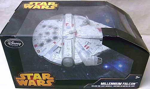 STAR WARS USAディズニーストア限定 DIE CAST VEHICLE MILLENNIUM FALCON