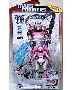 HASBRO TRANSFORMERS GENERATIONS DELUXE CLASS ARCEE [COMIC BOOK INCLUDED]