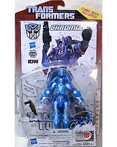 HASBRO TRANSFORMERS GENERATIONS DELUXE CLASS CHROMIA [COMIC BOOK INCLUDED]