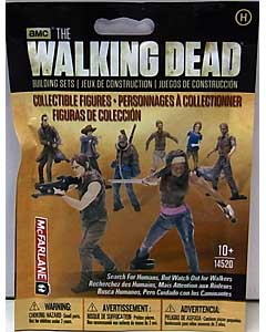 McFARLANE TOYS THE WALKING DEAD TV USA TOYSRUS限定 BUILDING SETS BLIND BAG [HUMAN] 1 PACK
