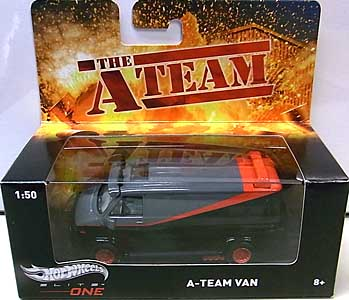 MATTEL HOT WHEELS 1/50スケール ELITE ONE THE A-TEAM A-TEAM VAN