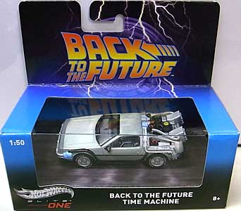 MATTEL HOT WHEELS 1/50スケール ELITE ONE BACK TO THE FUTURE BACK TO THE FUTURE TIME MACHINE