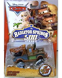 MATTEL CARS 2014 THE RADIATOR SPRINGS 500 1/2 シングル OFF-ROAD MATER 台紙傷み特価