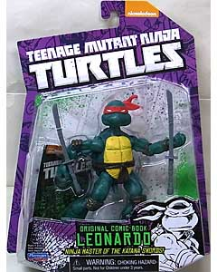 PLAYMATES NICKELODEON TEENAGE MUTANT NINJA TURTLES ベーシックフィギュア ORIGINAL COMIC BOOK LEONARDO 台紙傷み特価