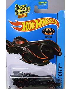 MATTEL HOT WHEELS 1/64スケール 2015 HW CITY BATMOBILE #062