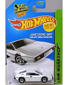 MATTEL HOT WHEELS 1/64スケール 2015 HW WORKSHOP JAMES BOND 007 THE SPY WHO LOVED ME LOTUS ESPRIT S1 #219