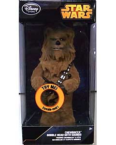 STAR WARS USAディズニーストア限定 BOBBLE HEAD WITH SOUND CHEWBACCA
