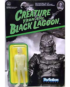 FUNKO x SUPER 7 REACTION FIGURES 3.75インチアクションフィギュア CREATURE FROM THE BLACK LAGOON CREATURE [CHASE GLOW IN THE DARK]