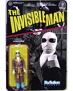 FUNKO x SUPER 7 REACTION FIGURES 3.75インチアクションフィギュア THE INVISIBLE MAN THE INVISIBLE MAN
