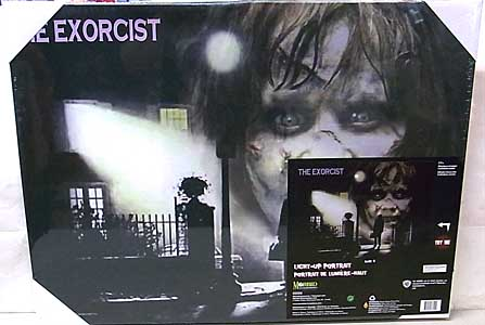 MORBID ENTERPRISES THE EXORCIST LIGHT-UP PORTRAIT