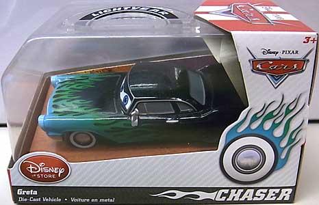 CARS 2014 USAディズニーストア限定 ダイキャストミニカー CHASER GRETA [BLUE]