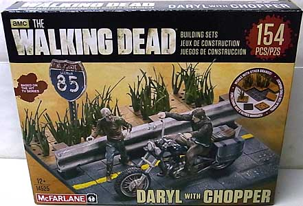 McFARLANE TOYS THE WALKING DEAD TV USA TOYSRUS限定 BUILDING SETS DARYL WITH CHOPPER