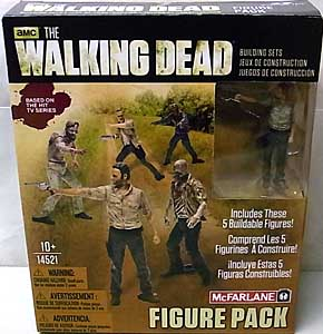McFARLANE TOYS THE WALKING DEAD TV USA TOYSRUS限定 BUILDING SETS FIGURE PACK