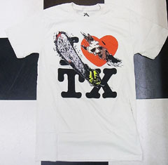 I LOVE TX  / TEXAS CHAINSAW MASSACRE / 悪魔のいけにえ