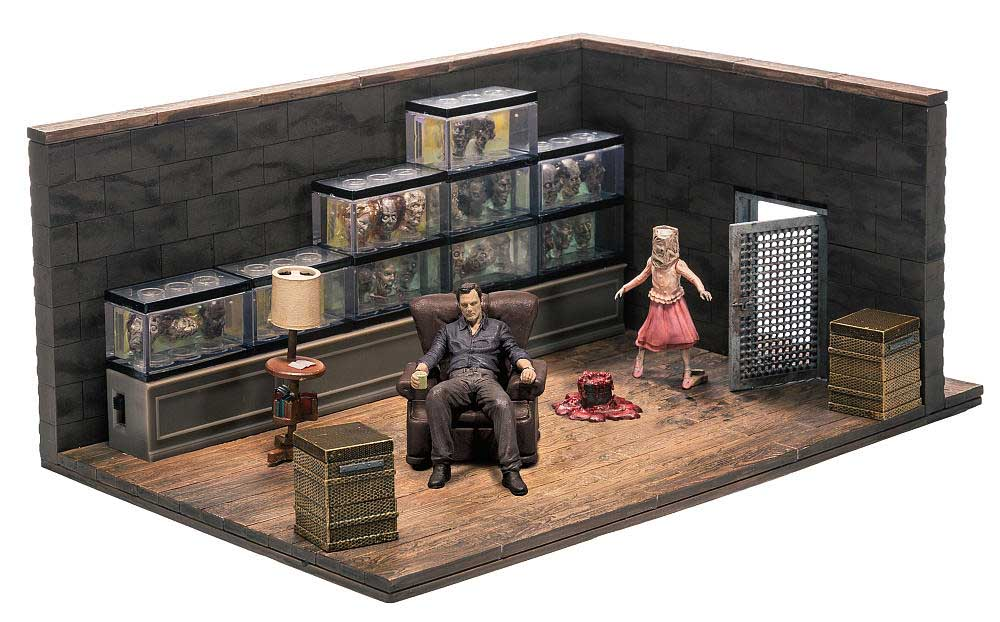 McFARLANE TOYS THE WALKING DEAD TV USA TOYSRUS限定 BUILDING SETS THE GOVERNOR'S ROOM