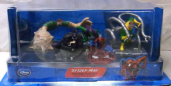 USA DISNEY STORE 限定 FIGURINE PLAYSET SPIDER-MAN