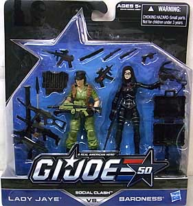 HASBRO G.I.JOE 50TH ANNIVERSARY 2PACK SOCIAL CLASH
