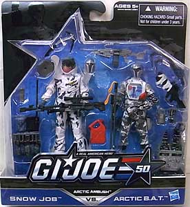 HASBRO G.I.JOE 50TH ANNIVERSARY 2PACK ARCTIC AMBUSH 台紙傷み特価