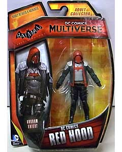 MATTEL DC COMICS MULTIVERSE 4インチアクションフィギュア BATMAN: ARKHAM KNIGHT DC COMICS RED HOOD