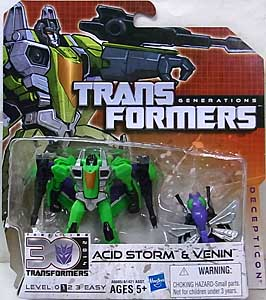 HASBRO TRANSFORMERS GENERATIONS LEGENDS CLASS ACID STORM & VENIN