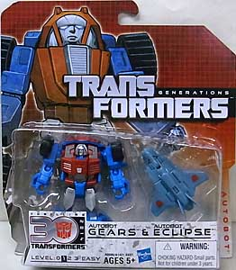 HASBRO TRANSFORMERS GENERATIONS LEGENDS CLASS AUTOBOT GEARS & AUTOBOT ECLIPSE