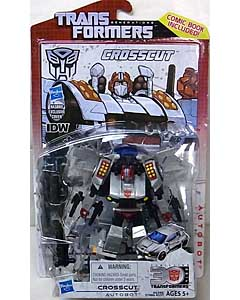 HASBRO TRANSFORMERS GENERATIONS DELUXE CLASS CROSSCUT [COMIC BOOK INCLUDED]