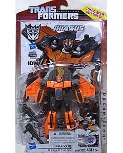HASBRO TRANSFORMERS GENERATIONS DELUXE CLASS JHIAXUS [COMIC BOOK INCLUDED]