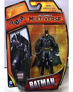 MATTEL DC COMICS MULTIVERSE 4インチアクションフィギュア BATMAN: ARKHAM KNIGHT BATMAN