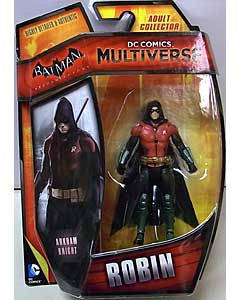 MATTEL DC COMICS MULTIVERSE 4インチアクションフィギュア BATMAN: ARKHAM KNIGHT ROBIN
