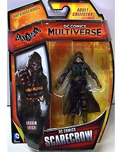MATTEL DC COMICS MULTIVERSE 4インチアクションフィギュア BATMAN: ARKHAM KNIGHT DC COMICS SCARECROW